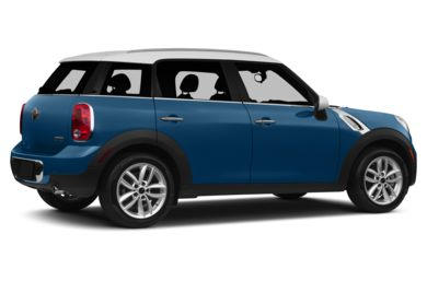 3/4 Rear Glamour  2013 MINI Countryman