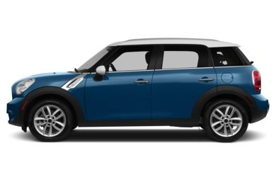 90 Degree Profile 2013 MINI Countryman