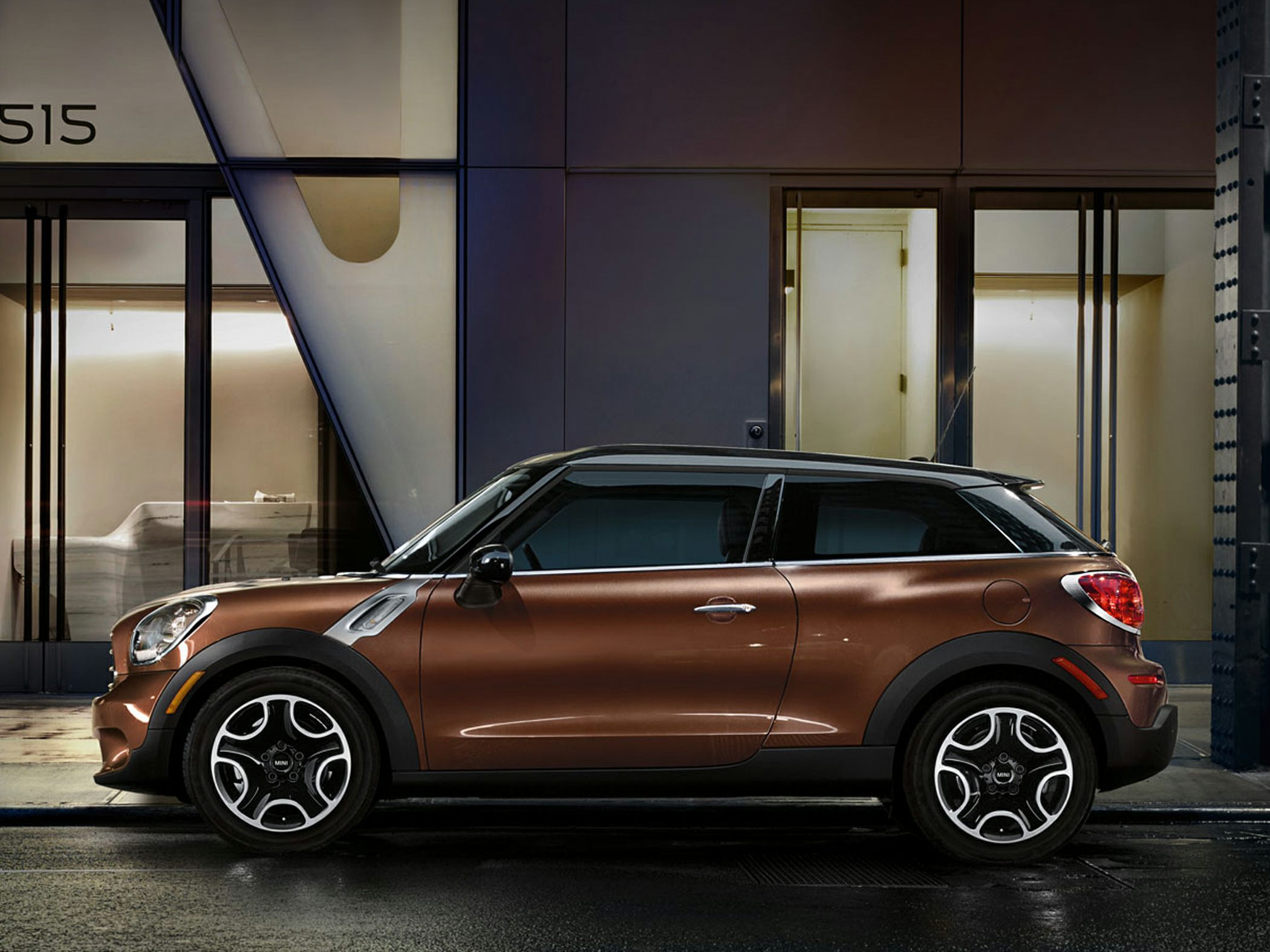 MINI paceman enhancements