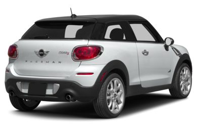 3/4 Rear Glamour  2013 MINI Paceman