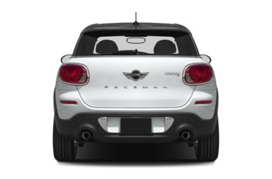 Rear Profile  2013 MINI Paceman