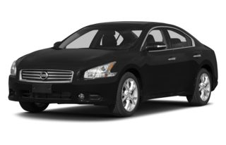 3/4 Front Glamour 2013 Nissan Maxima