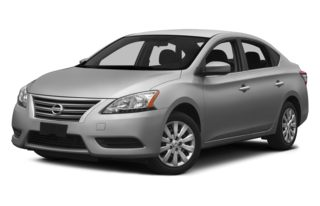 3/4 Front Glamour 2013 Nissan Sentra
