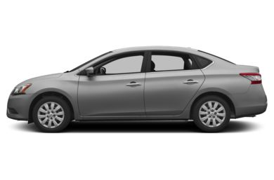 90 Degree Profile 2013 Nissan Sentra