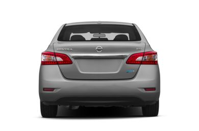 Rear Profile  2013 Nissan Sentra