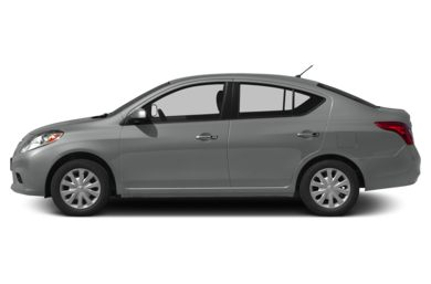 90 Degree Profile 2013 Nissan Versa