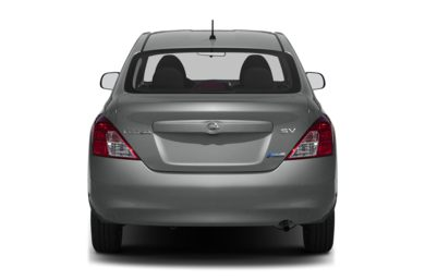Rear Profile  2013 Nissan Versa