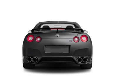 Rear Profile  2013 Nissan GT-R