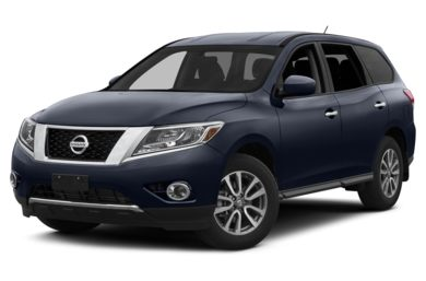 3/4 Front Glamour 2014 Nissan Pathfinder