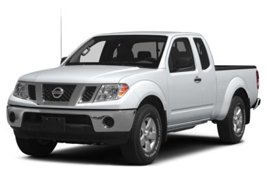 3/4 Front Glamour 2013 Nissan Frontier