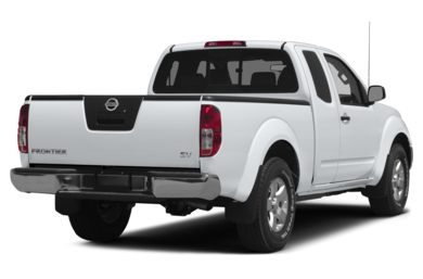 3/4 Rear Glamour  2013 Nissan Frontier