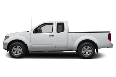 90 Degree Profile 2013 Nissan Frontier