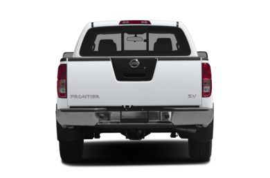 Rear Profile  2013 Nissan Frontier