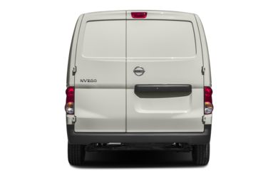 Rear Profile  2013 Nissan NV200