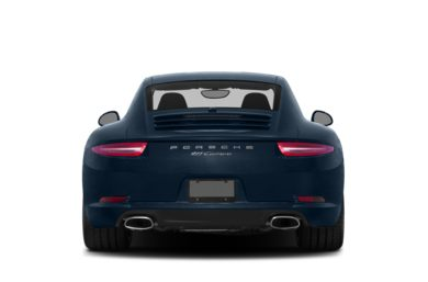 Rear Profile  2013 Porsche 911
