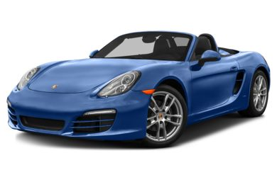 3/4 Front Glamour 2013 Porsche Boxster