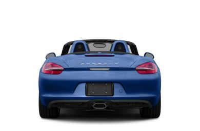 Rear Profile  2013 Porsche Boxster