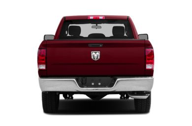 Rear Profile  2013 RAM 1500