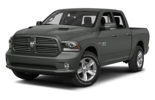 3/4 Front Glamour 2013 RAM 1500