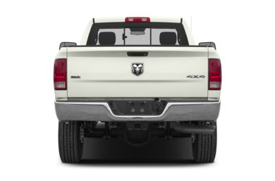 Rear Profile  2013 RAM 2500