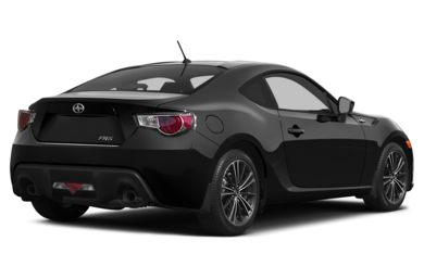 3/4 Rear Glamour  2013 Scion FR-S