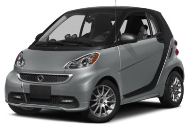 3/4 Front Glamour 2013 smart fortwo