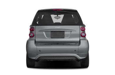 Rear Profile  2013 smart fortwo