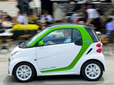 OEM Exterior  2013 smart fortwo electric drive