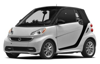 3/4 Front Glamour 2013 smart fortwo electric drive