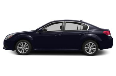 90 Degree Profile 2013 Subaru Legacy