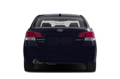 Rear Profile  2013 Subaru Legacy