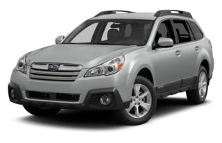3/4 Front Glamour 2014 Subaru Outback
