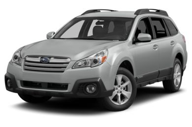 3/4 Front Glamour 2013 Subaru Outback