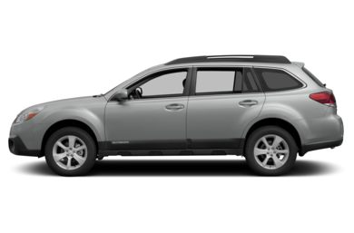90 Degree Profile 2014 Subaru Outback