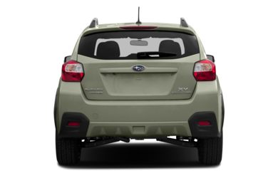 Rear Profile  2013 Subaru XV Crosstrek