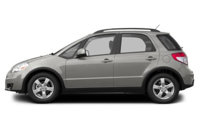 90 Degree Profile 2013 Suzuki SX4