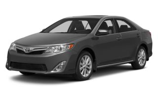 3/4 Front Glamour 2013 Toyota Camry
