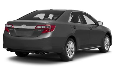 3/4 Rear Glamour  2013 Toyota Camry