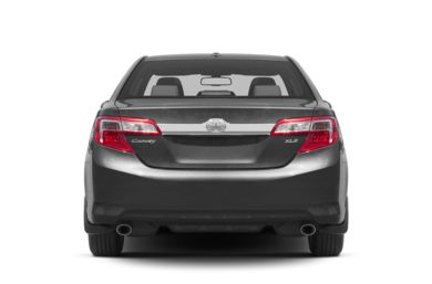 Rear Profile  2013 Toyota Camry