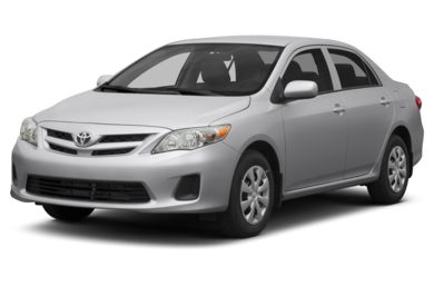 3/4 Front Glamour 2013 Toyota Corolla