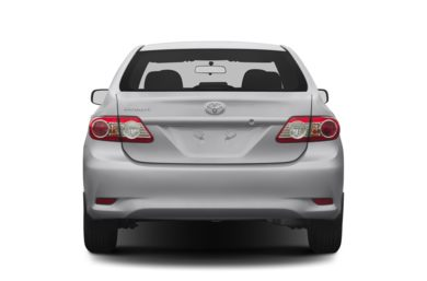 Rear Profile  2013 Toyota Corolla