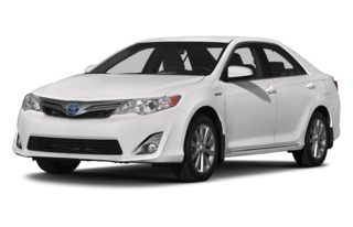 3/4 Front Glamour 2013 Toyota Camry Hybrid