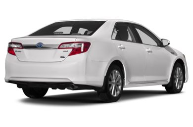 3/4 Rear Glamour  2013 Toyota Camry Hybrid