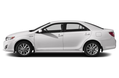 90 Degree Profile 2013 Toyota Camry Hybrid