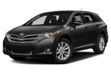 3/4 Front Glamour 2014 Toyota Venza