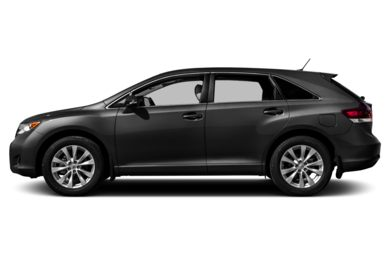 90 Degree Profile 2014 Toyota Venza
