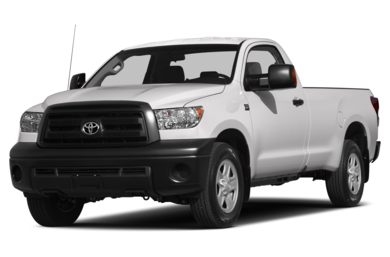 3/4 Front Glamour 2013 Toyota Tundra