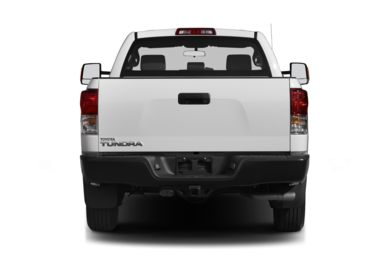 Rear Profile  2013 Toyota Tundra