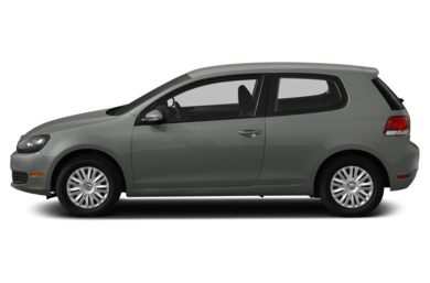 90 Degree Profile 2013 Volkswagen Golf