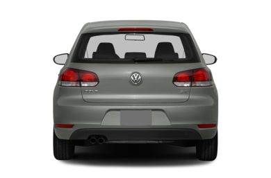 Rear Profile  2013 Volkswagen Golf
